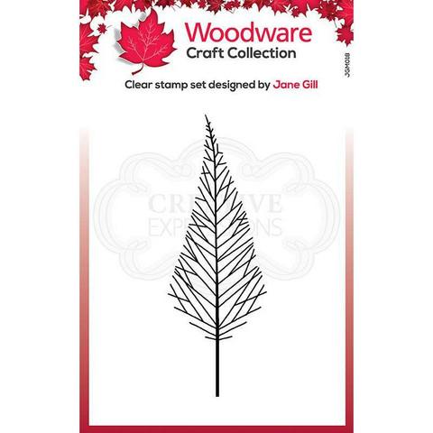 Woodware leimasin Mini Tall Twiggy Tree