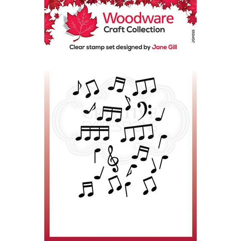 Woodware leimasin Mini Music Background