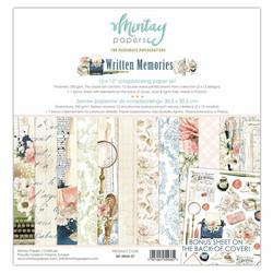 "Mintay paperipakkaus Written Memories, 12"" x 12"""