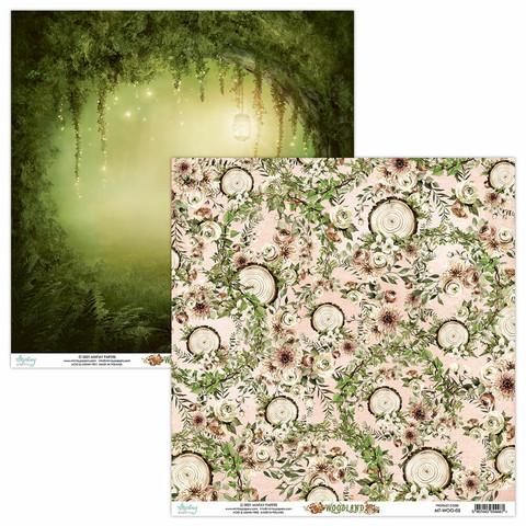 Mintay skräppipaperi Woodland 05