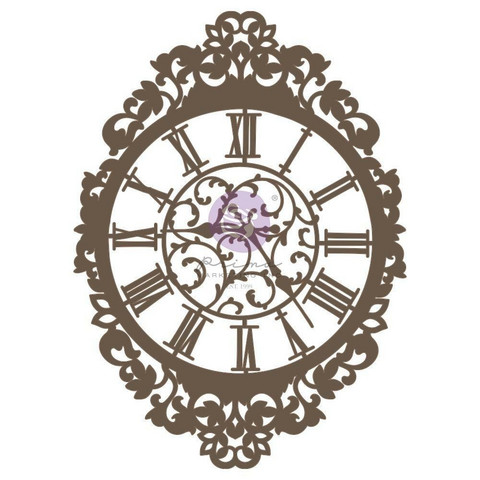 Prima Decorative Chipboard kuvioleike, Time Is Now