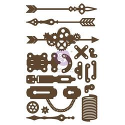 Prima Decorative Chipboard kuvioleike, Make Something