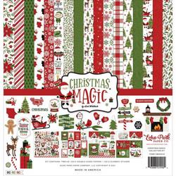 Echo Park Christmas Magic -paperipakkaus, 12