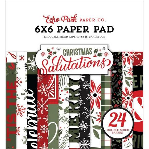 Echo Park Salutations Christmas -paperipakkaus