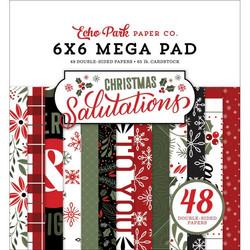 Echo Park Salutations Christmas - MEGA paperipakkaus