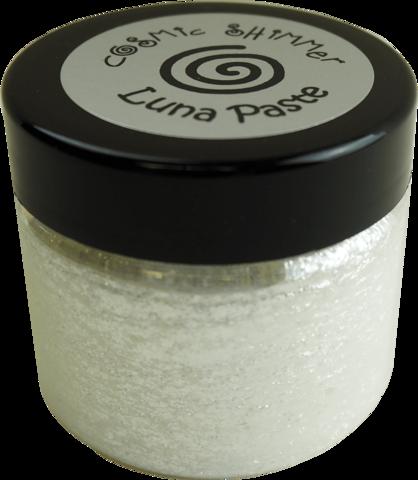 Cosmic Shimmer Luna -pasta, sävy Moonlight Pearl