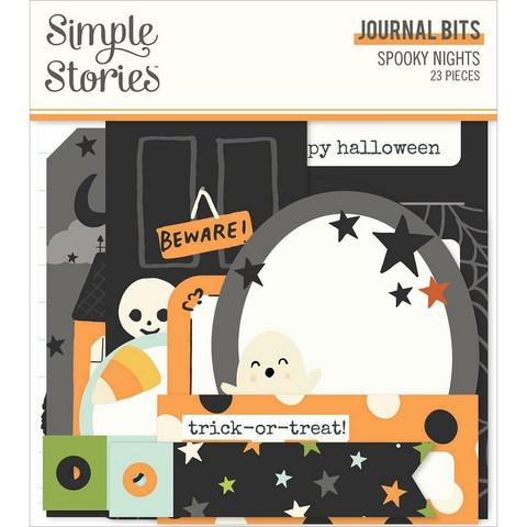 Simple Stories Spooky Nights Journal Bits, leikekuvat