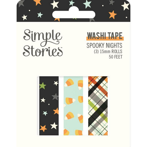 Simple Stories Spooky Nights washiteipit