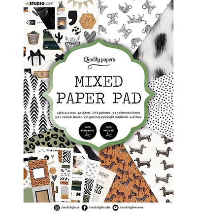 Studio Light Mixed -paperipakkaus, A5