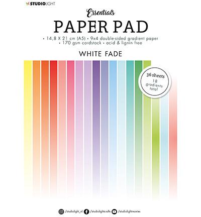 Studio Light Essentials -paperipakkaus Gradient White Fade, A5