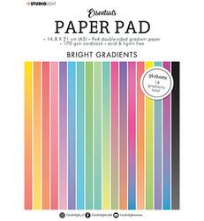 Studio Light Essentials -paperipakkaus Bright Gradients, A5