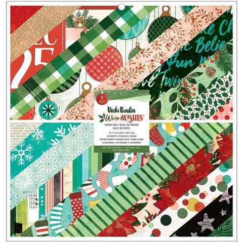 Vicki Boutin paperipakkaus Warm Wishes, 12