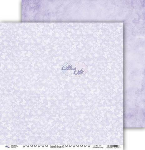 Altair Art skräppipaperi Butterfly Dream 07