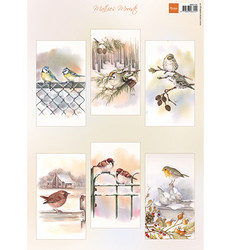 Marianne Design korttikuvat Slimline Birds