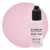 Couture Creations Glitter Accents alkoholimuste, sävy Baby Pink