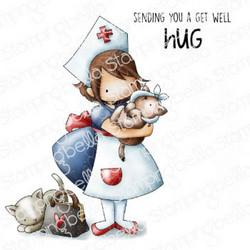 Stamping Bella Tiny Townie Nurse -leimasin