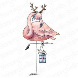 Stamping Bella Flamingodeer -leimasin