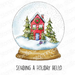 Stamping Bella Holiday Snowglobe Complete -leimasin