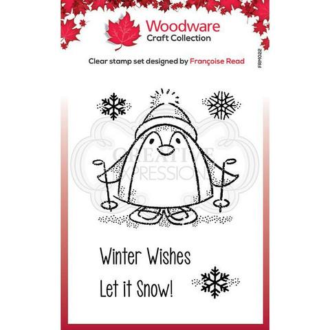 Woodware leimasin Peter Penguin