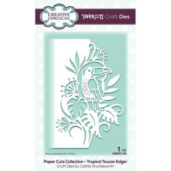 Creative Expressions stanssi Tropical Toucan Edger
