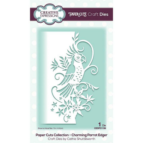 Creative Expressions stanssi Charming Parrot Edger