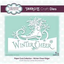 Creative Expressions stanssi Winter Cheer Edger