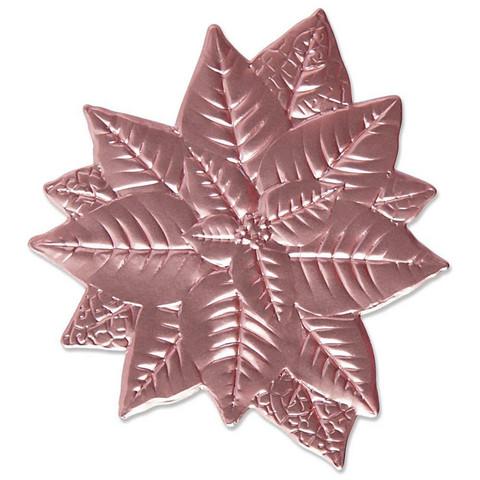 Sizzix 3-D Impresslits stanssaava kohokuviointikansio Poinsettia