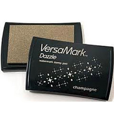 VersaMark Dazzle vesileima-mustetyyny, sävy Champagne
