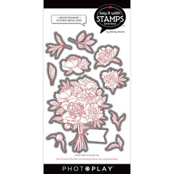 PhotoPlay stanssi Peony Bouquet