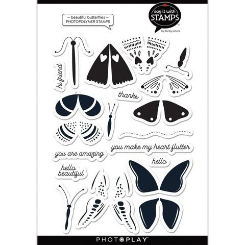 PhotoPlay leimasinsetti Beautiful Butterflies