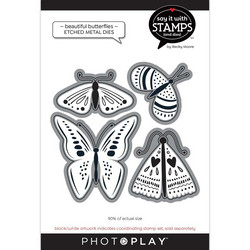 PhotoPlay stanssi Beautiful Butterflies