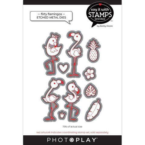 PhotoPlay stanssi Flirty Flamingos