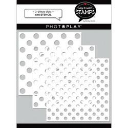 PhotoPlay sapluunasetti Graduated Dots