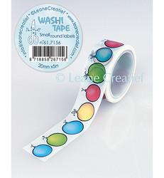 Leane Creatief Small Round Labels -washiteippi