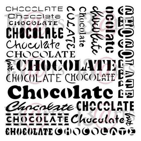 13@rts Mixed Media sapluuna Chocolate
