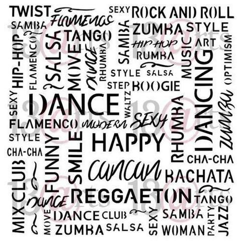 13@rts Mixed Media sapluuna Just Dance