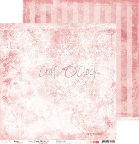 Craft O'clock skräppipaperi Pink Mood 04