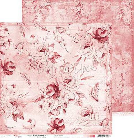 Craft O'clock skräppipaperi Pink Mood 05