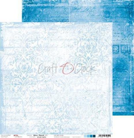 Craft O'clock skräppipaperi Blue Mood 03
