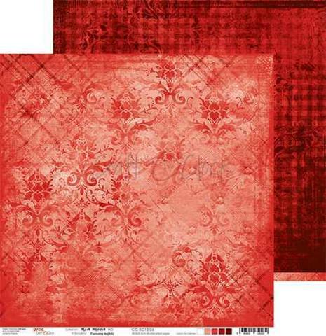 Craft O'clock skräppipaperi Red Mood 06