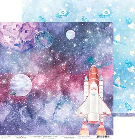 Craft O'clock skräppipaperi Cosmic Adventures 03