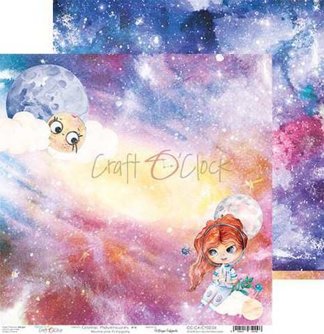 Craft O'clock skräppipaperi Cosmic Adventures 04