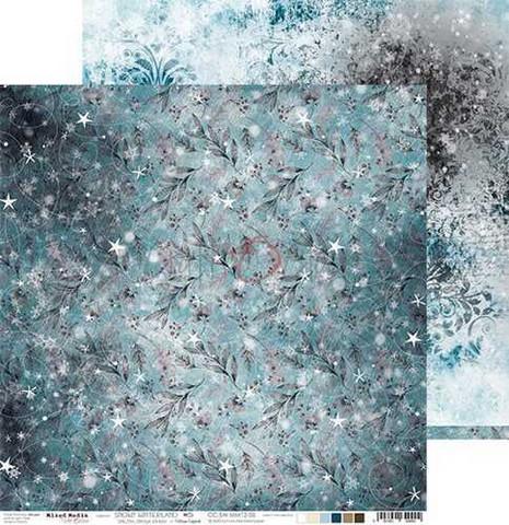 Craft O'clock skräppipaperi Snowy Winterland 05