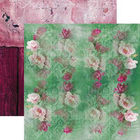 13@rts skräppipaperi Carmen, Wall of Flowers