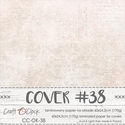 Craft O'clock Cover -paperi 38, Wedding Dream 60 x 24.2 cm
