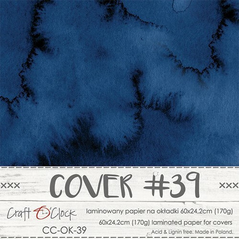 Craft O'clock Cover -paperi 39, Hours of Longing, 60 x 24.2 cm