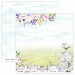 ScrapBoys Garden of Love skräppipaperi 01