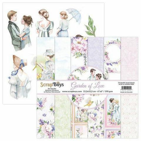 ScrapBoys paperikko Garden of Love