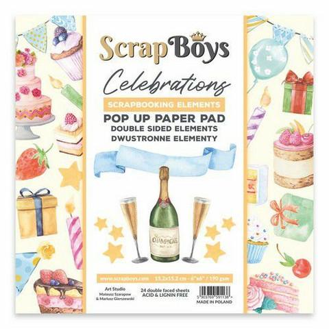ScrapBoys leikekuva-paperikko Celebrations