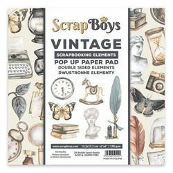 ScrapBoys leikekuva-paperikko Vintage
